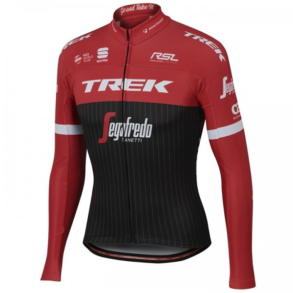 2017 TREK-SEGAFREDO Long Sleeve Jersey - Professional Cycling Team