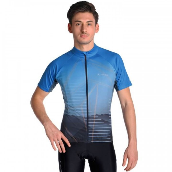 VAUDE Majura Short Sleeve Jersey blue For Men