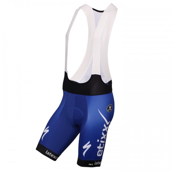 2016 ETIXX-QUICK STEP Bib Shorts PRR - Professional Cycling Team