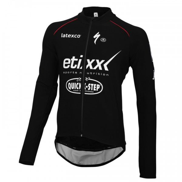 2016 ETIXX-QUICK STEP Cycling Jacket Zero Aqua - Professional Cycling Team