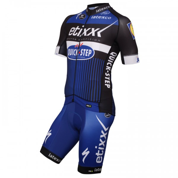 2016 ETIXX-QUICK STEP PRR Set (2 pieces) - Professional Cycling Team