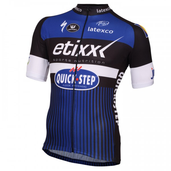 2016 ETIXX-QUICK STEP Short Sleeve Jersey - Professional Cycling Team