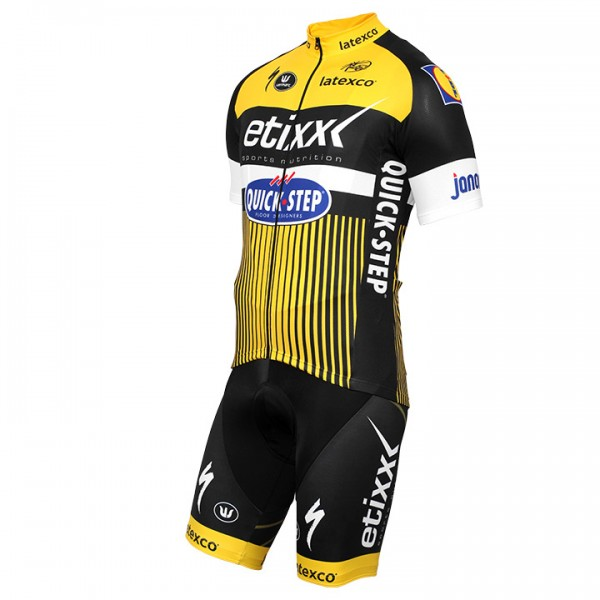 ETIXX-QUICK STEP TDF Edition gelb Set (2 pieces) - Professional Cycling Team