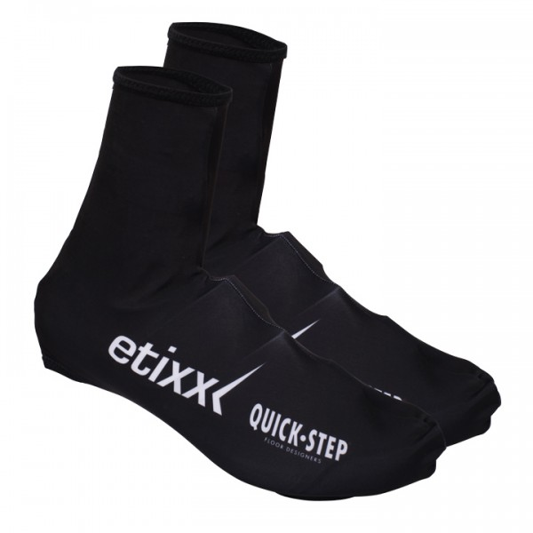 2016 ETIXX-QUICK STEP Time Trial Shoe Covers - Professional Cycling Team