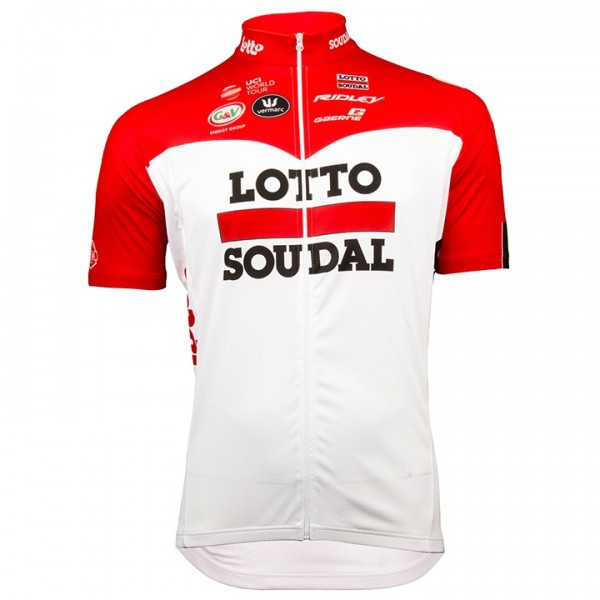 2018 Lotto Soudal Short Sleeve Jersey - Professional Cycling Team