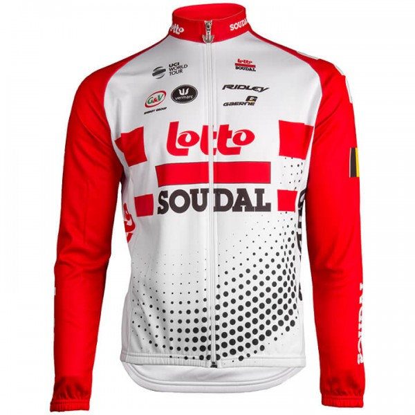 2019 Lotto Soudal Long Sleeve Jersey - Professional Cycling Team