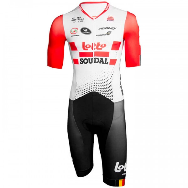 2019 LOTTO SOUDAL Race Bodysuit - Professional Cycling Team
