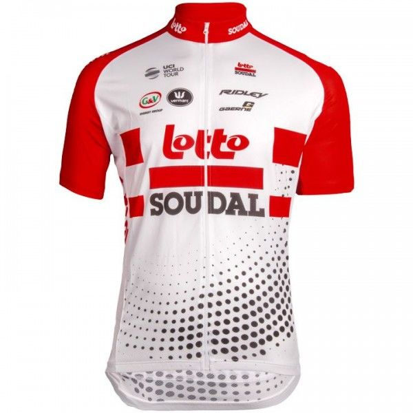 2019 Lotto Soudal Short Sleeve Jersey - Professional Cycling Team