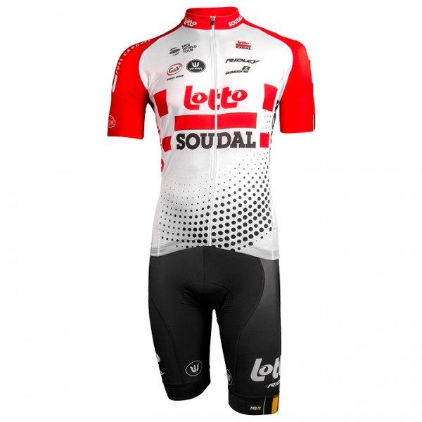 2019 LOTTO SOUDAL Aero Set (2 pieces) - Professional Cycling Team
