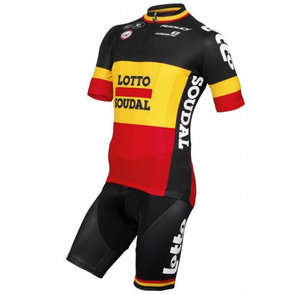 2015 LOTTO SOUDAL Belgian Champion Set (2 pieces) - Professional Cycling Team