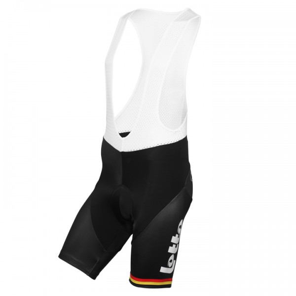 2015-2016 LOTTO SOUDAL Bib Shorts Belgian Time Trial Champion - Professional Cycling Team