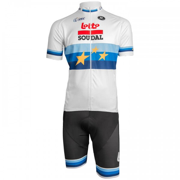 2019 LOTTO SOUDAL European Champion Set (2 pieces) - Professional Cycling Team