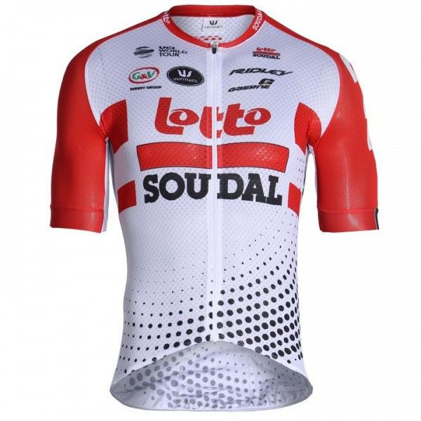 2019 Lotto Soudal PRR Short Sleeve Jersey - Professional Cycling Team