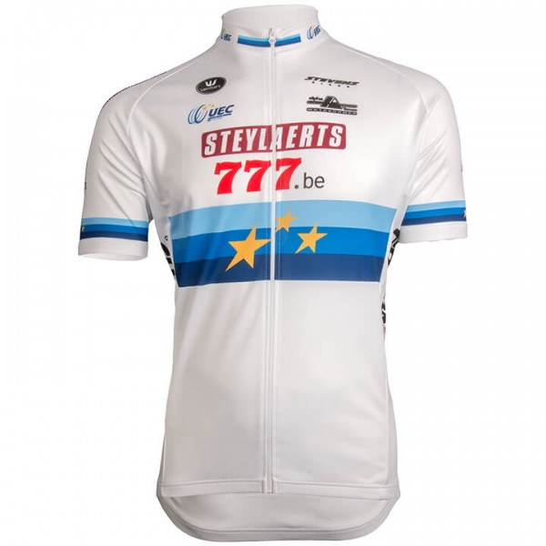 2019 STEYLAERTS-777 Short Sleeve Jersey European Champion - Professional Cycling Team
