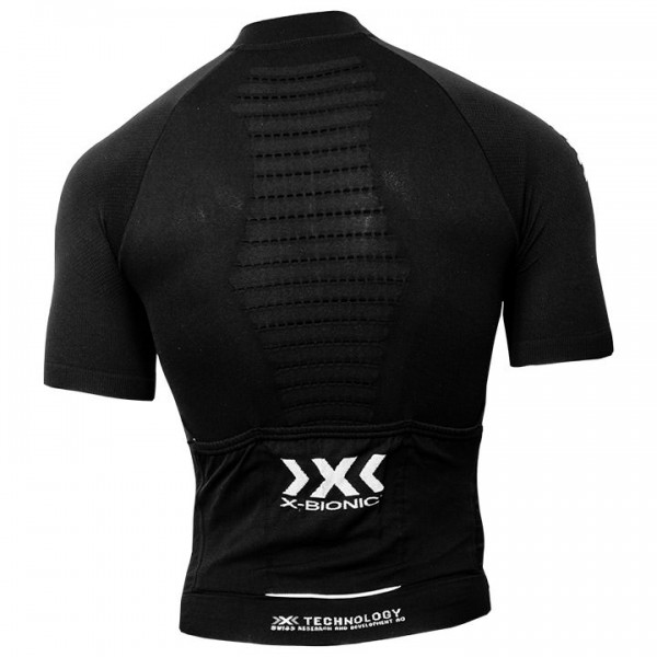 2017 X-BIONIC Bike Race Evo Short Sleeve Jersey black For Men